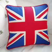 Jubilee Union Jack Cushion