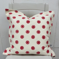 Floral Spot cushion NEW SALE PRICE!