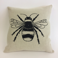 Bumble Bee cushion (single bee)