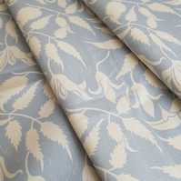 'Alpina' Fabric Blue