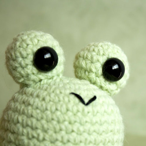 PATTERN Bundle 5 in 1 : Princess Amigurumi Version 2 – Green Frog | 495x495