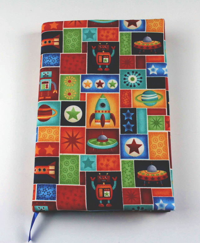 A5 Fabric Covered Notebook