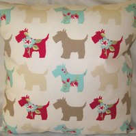 Scottie Dog Cushion Cover
