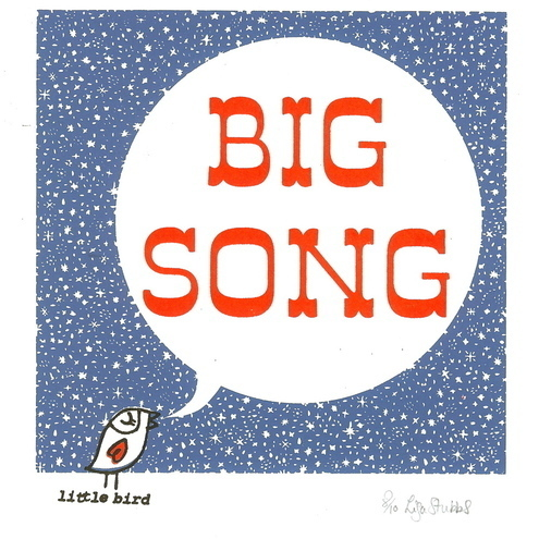 Big Song - Original screen print