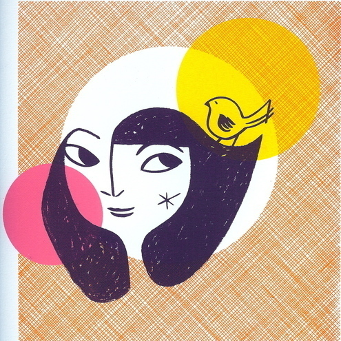 Spring Girl 2 - Original screen print