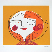 Autumn Breeze -  Original screen print