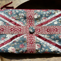 Vintage style Union Jack Make-up Bag