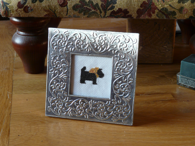 Mini Cross Stitch Framed Pictures