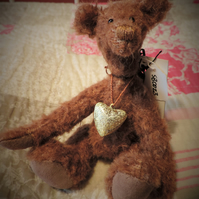 7 inch Mohair Collectors Bear.