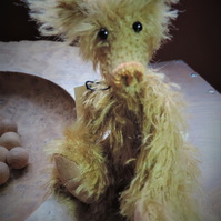 "5"" Mohair Teddy Bear. Hand made Collectors Item"