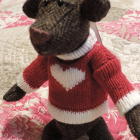 "5"" Tweed Collectable bear"