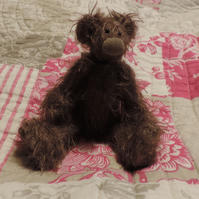 "4"" Mohair collectable bear"