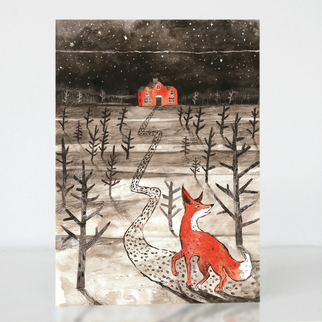 Greetings Card The Tale of Mr Fox