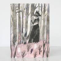15% off! Greeting Card The Company of Wolves