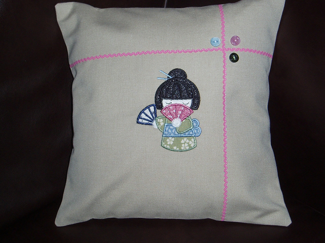 Japanese Momiji Cushion