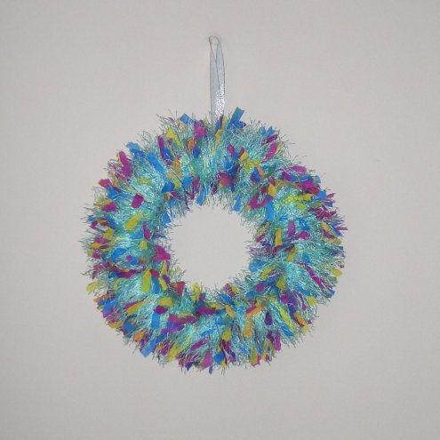 Quirky And Unusual Christmas Wreath Folksy