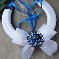 Wedding Horseshoe - Vintage Blue