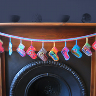Crochet Socks Advent Calendar