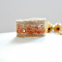 golden autumnal cuff