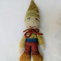 Hand Knitted Gnome