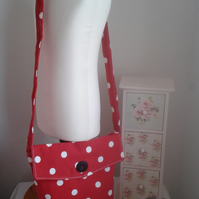 SPOTTY ACROSS THE BODY MESSENGER BAG