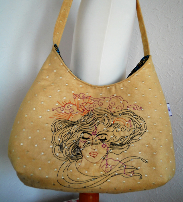 Henna Lady shoulder Bag