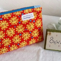 SUNSHINE COSMETIC BAG