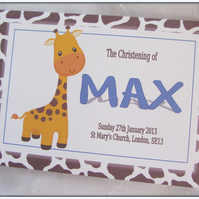 PERSONALISED -1ST BIRTHDAY-NAMING DAY-CHRISTENING-GUEST BOOK-SCRAPBOOK ALBUM