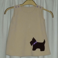 special listing  doggy baby dress 6-9 months old