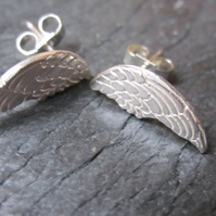 Lisbee Stainton 'Wings' Sterling Silver earrings