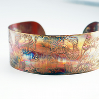 Medium copper owl cuff 20% off valentine's sale was 16 pounds
