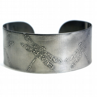 Surgical steel Dragonfly Cuff