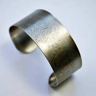 Surgical steel Moongazing Hare Cuff
