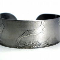 Surgical steel Hare Cuff