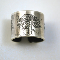Sterling silver Tree Ring
