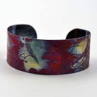 Medium copper Magpie cuff