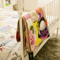 Designers Guild Double Bed Sized Patchwork Quilt