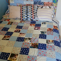 One of a Kind Bespoke Quilt Commission Stitched just for You!