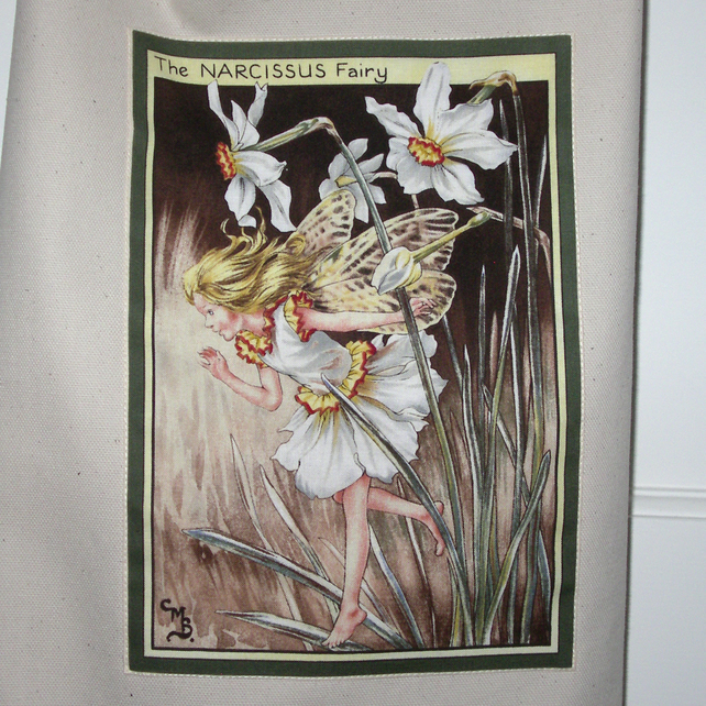 Narcissus Flower Fairy Apron