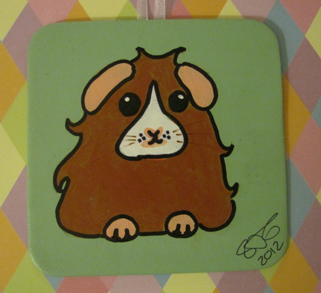 Guinea Pig Mini Painting