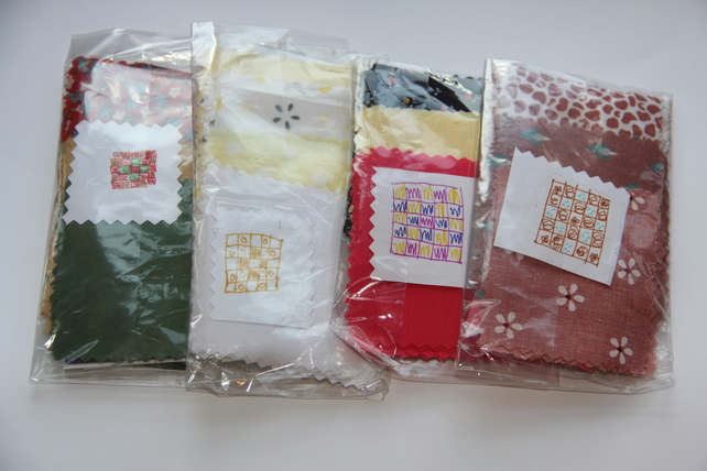 English piecing kit - learn to do patchwork