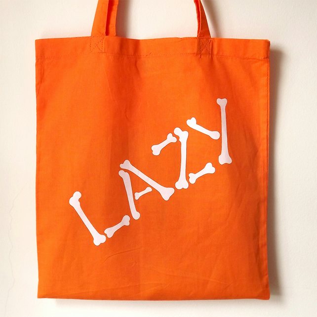 Lazy Bones Tote Bag