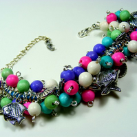 Beside the Sea Charm Bracelet