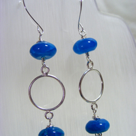 Agate Gemstone Earrings
