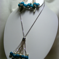 Silver and Turquoise Jewellery set