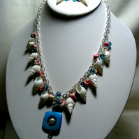 Mixed Shell Jewellery Set