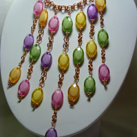 Fruity Chainmaille Necklace
