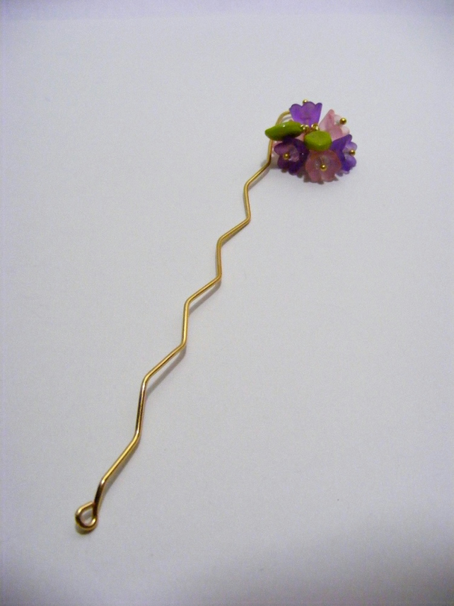 Bunch of Flowers Bookmark