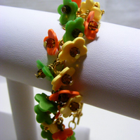 Spring Colour Flower Bracelet