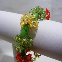 Bunches of Flowers Bracelet